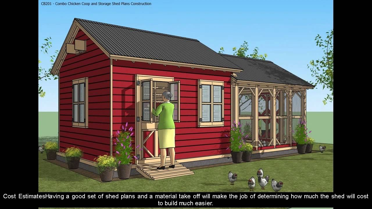 Shed plans 16x20 youtube for Free barn plans with loft