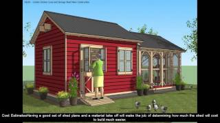 Shed plans 16x20