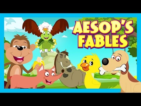 Fables For Children - Bedtimes Stories For Kids || Kids Hut Stories - Aesop's Fables