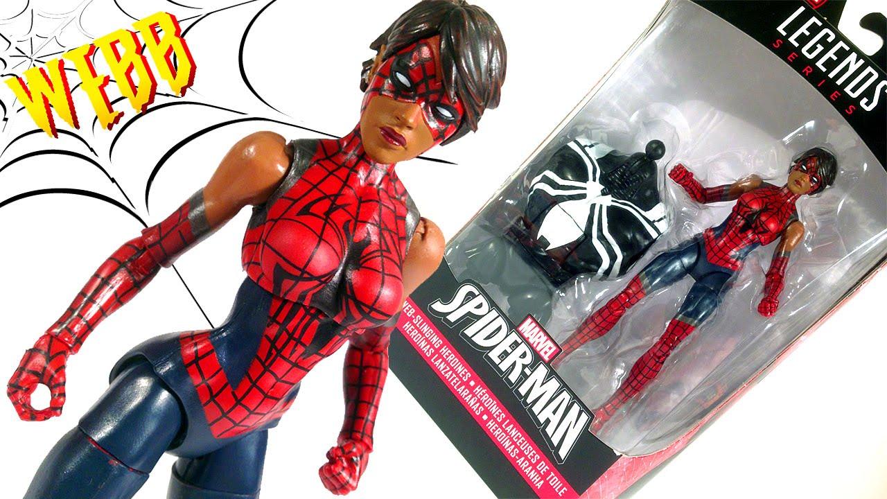 Marvel Legends Spider-Man Venom Series Spider Girl Ashley Barton Action Figure
