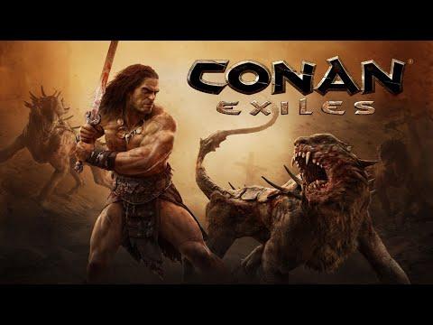 Выживание в Conan Exiles - стрим второй