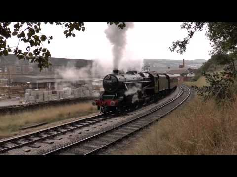 Keighley & Worth Valley Railway = Steam Spectacular Weekend on 12 10 2013
