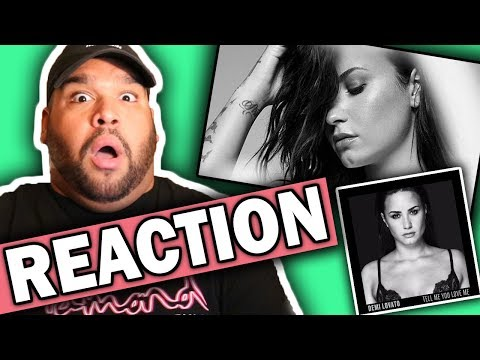 Demi Lovato - You Don't Do It For Me Anymore [REACTION]