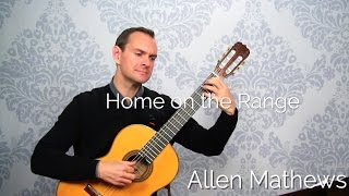 Home on the Range, solo guitar (learn to play it!)