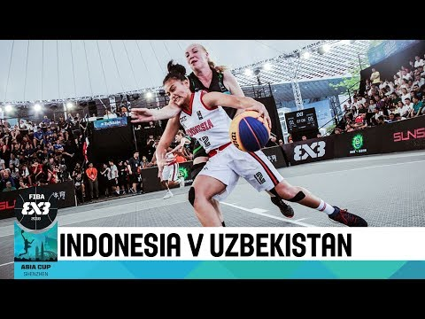 Indonesia v Uzbekistan - Women's Full Game - FIBA 3x3 Asia Cup 2018