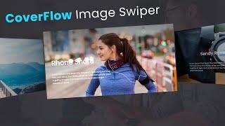 Coverflow 3D Image Swiper usin…