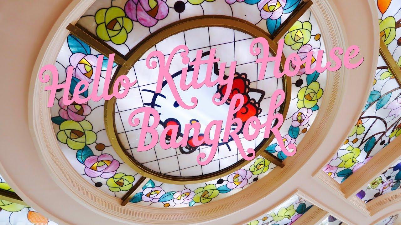 Hello Kitty House Bangkok Tour Missminechin Youtube