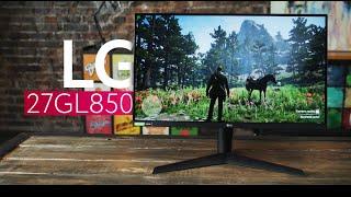 обзор монитора LG 27GL850 в 4k