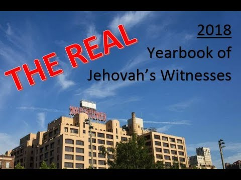 JW.Org: The REAL 2018 Yearbook of Jehovah's Witnesses