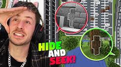 100 Spieler (eigentlich nur 55) spielen HIDE and SEEK in Minecraft! Werde ich ALLE FINDEN?!