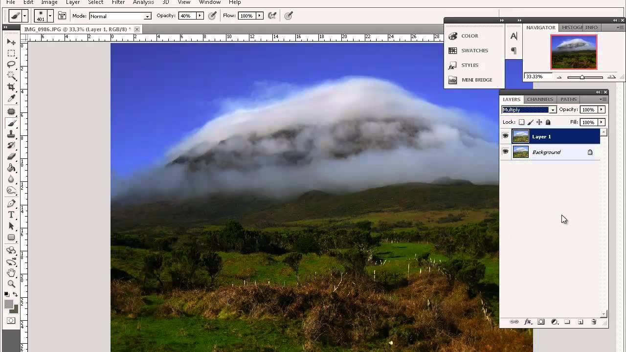 Cómo aclarar y oscurecer Imágenes Digitales / knorrigt.com