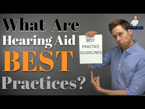 What Are Hearing Aid Best Practices?  Best Practice Checklists Included!