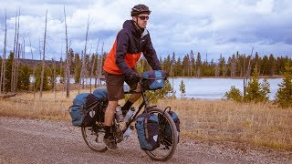 Old Faithful + Backcountry Camping in Yellowstone National Park - Bicycle Touring Pro / EP. #261