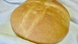 Домашний ХЛЕБ. Пшенично-овсяный хлеб. Домашний хлеб в духовке. Рецепт вкусного домашнего хлеба.