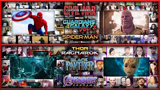 All Trailers Of Marvel Phase 3 Reactions Mashup  Avengers Endgame, Infinity War,