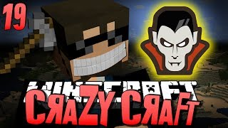 Minecraft CRAZY CRAFT 19 - Vampire Poppet OP (Minecraft Mod Survival)