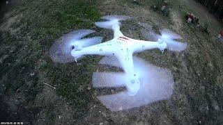 Обзор квадрокоптера Syma X5 , стоит ли покупать?(Обзор квадрокоптера Syma X5 Группа в ВК: http://vk.com/rcreviews Купить можно тут: ..., 2014-08-20T08:32:18.000Z)