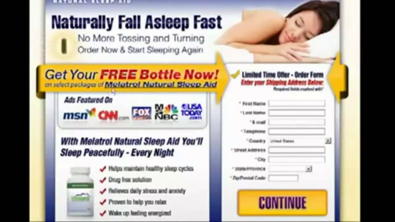 Melatrol Sleep Aid Youtube