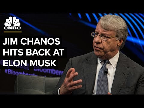 Tesla Short-Seller Chanos Responds To Musk
