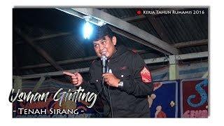 Tenah Sirang - Usman Ginting - Kerja Tahun Rumamis 2016