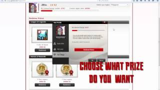 how to redeem prizes on garena energy