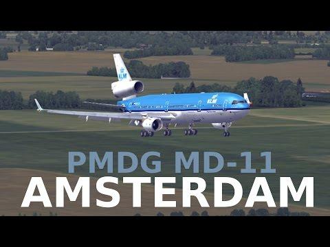 FSX MD-11 Amsterdam
