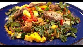 Стир-фрай из говядины с бэби-овощами | Мясо. От филе до фарша