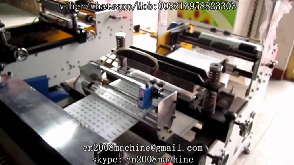 sleeve cutting machine
