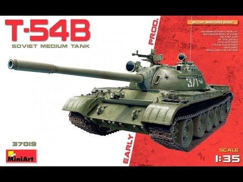 Kit Review: MiniArt T-54B Early Production 37019
