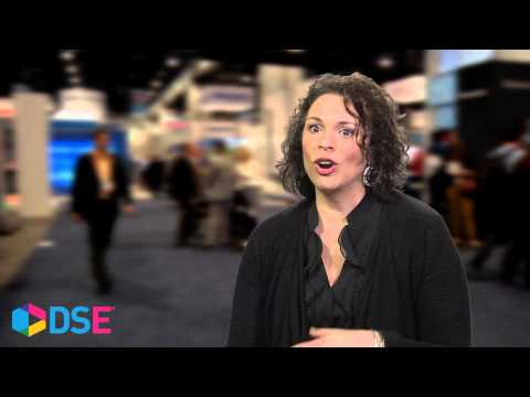 Joanna Douglas of Parketing at DSE 2015