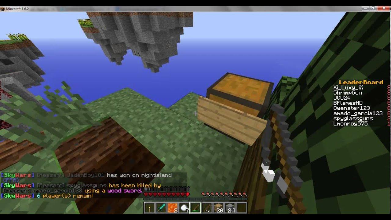 Сервера Sky Wars для Minecraft 1.8, 1.8.1
