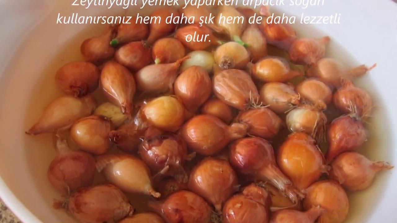 Zeytinyağlı Arpacık Soğan