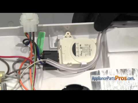 ge refrigerator not defrosting defrost timer replacement wr9x489 3 55