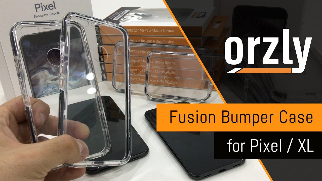 100% authentic ca879 02e03 Orzly Fusion Bumper Case for Pixel / XL