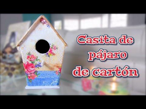 Manualidades para decorar como hacer una casa de pajaro - Hacer manualidades en casa ...