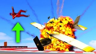 0% CHANCE THAT HE SURVIVES THIS! (GTA 5 Funny Moments)