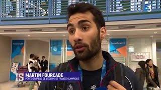 Les athlètes français arrivent en Corée du Sud