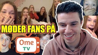 Møder fans på OmeTV #1