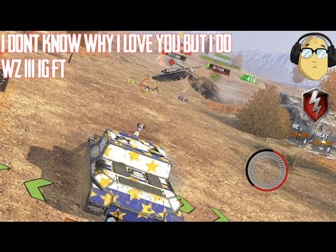 WZ 111 1G FT World of Tanks Blitz