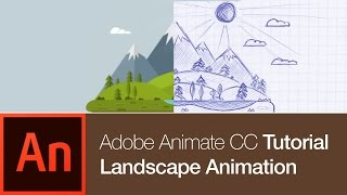 Animate CC Tutorial: Create a Nature Landscape Animation (FREE DOWNLOAD)