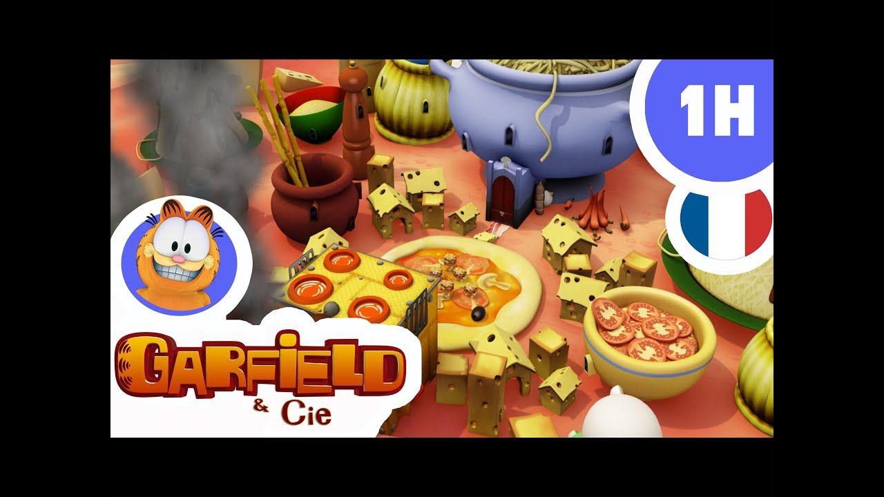 Garfield sp cial 1 heure contre vents et mar es youtube - Garfield et cie youtube ...