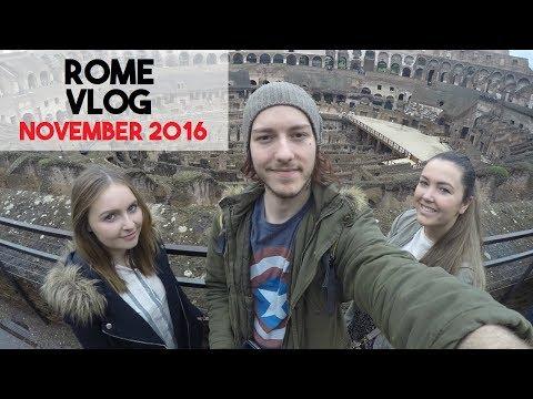 Rome Vlog: November 2016