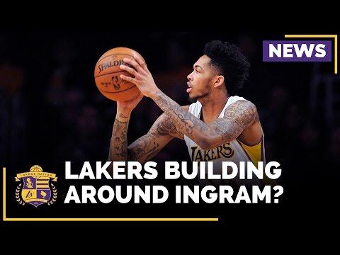 Magic Johnson: Lakers Will 'Probably' Build Around Brandon Ingram