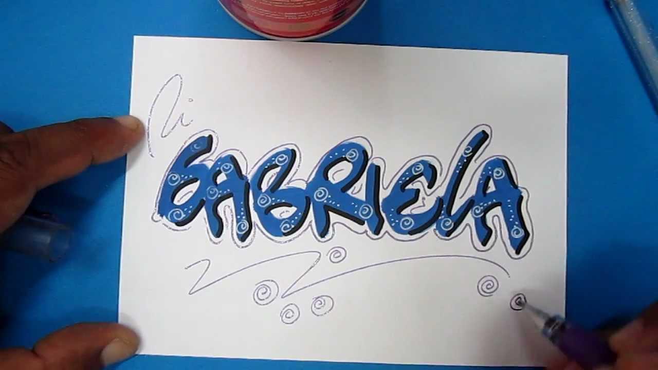 Decoración De Letras Para Cartas Imagui