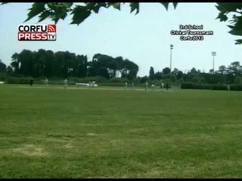 Semifinal 1 - Corfu International School Cricket Tournament 2013