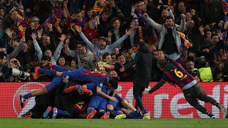 Barcelona's futsal team, journalists and fans are left stunned delirious as the team complete their historic comeback against paris saint-germain in ...