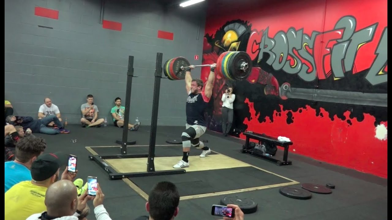 Dmitry Klokov - Jerk from the rack - 245 kg (539 lbs) by Dmitry Klokov