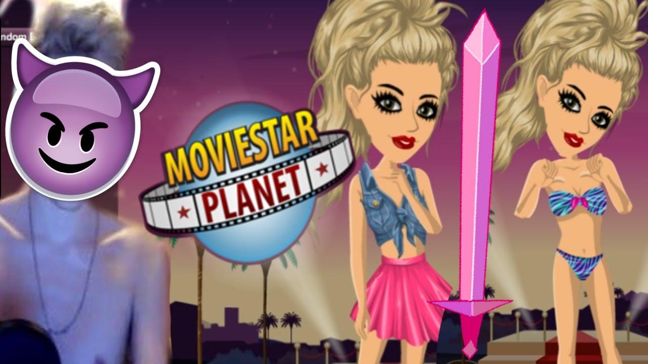 Ugly Girl Drama Moviestarplanet - Youtube-4819