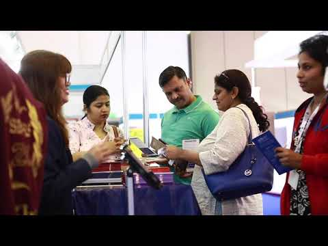 Parents On Board With Their Children At 16th Int. Education Show