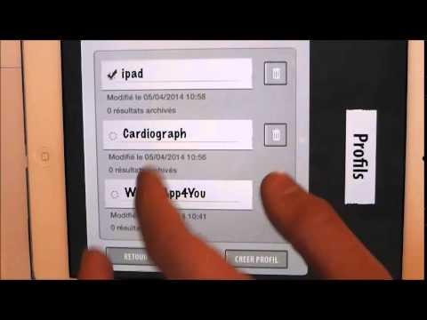 Test De L'Application Cardiograph
